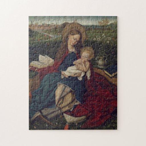 Virgen María y bebé Jesús Puzzles Con Fotos