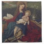 Virgen María y bebé Jesús Servilletas De Papel