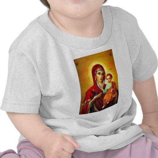 Virgen María y Jesús Camisetas
