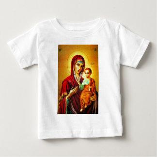 Virgen María y Jesús Playera