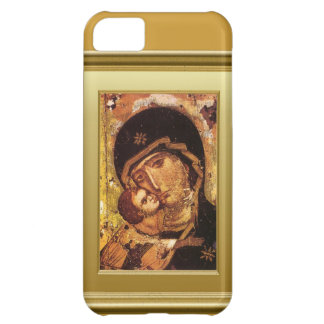 Virgen María y niño Jesús Funda Para iPhone 5C