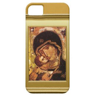Virgen María y niño Jesús iPhone 5 Funda