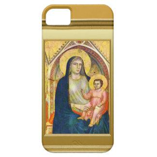 Virgen María y niño Jesús iPhone 5 Fundas