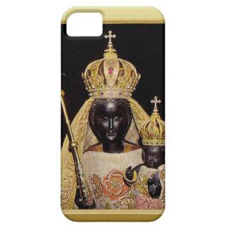 Virgen María y niño negros Jesús Funda Para iPhone 5 Barely There
