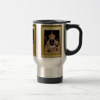 Virgen negra taza de viaje