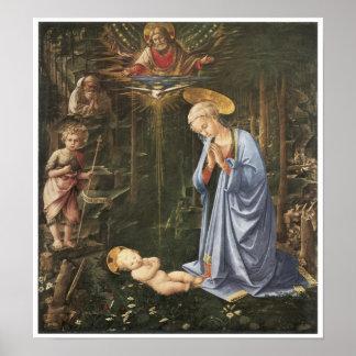 Virgen que adora al niño, 1459 impresiones