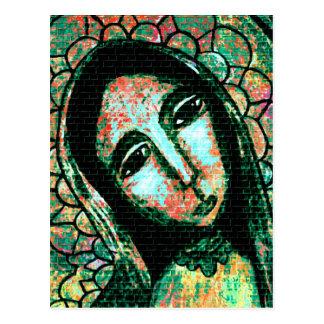 Virgen Santa Postal