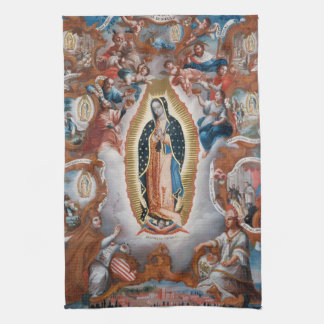 """Virgen toalla de mano de Guadalupe"""