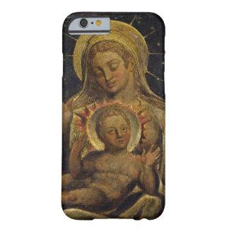 Virgen y niño, 1825 (tempera en el panel) funda de iPhone 6 barely there