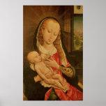 Virgen y niño 2 impresiones