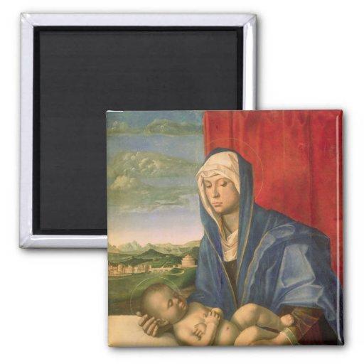 Virgen y niño 3 iman