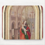 Virgen y niño alfombrilla de raton