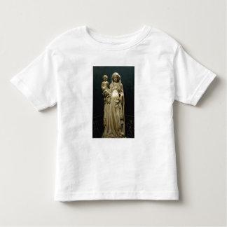 Virgen y niño, c.1375 (alabastro) playeras
