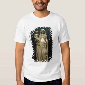 Virgen y niño, c.1375 (alabastro) polera