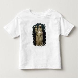 Virgen y niño, c.1375 (alabastro) remeras