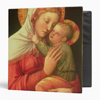 """Virgen y niño, c.1465 (aceite en el panel) carpeta 1 1/2"""""""
