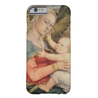 Virgen y niño, c.1465 funda de iPhone 6 barely there