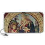 Virgen y niño con San Juan Bautista Laptop Altavoces