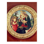 Virgen y niño con San Juan Bautista Tarjeta Postal