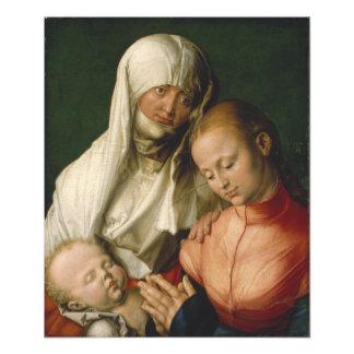 Virgen y niño con Santa Ana por Durer Fotografia