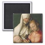 Virgen y niño con Santa Ana por Durer Imán