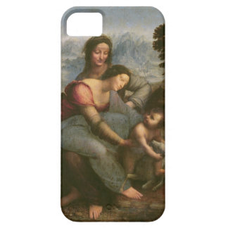 Virgen y niño con St Anne, c.1510 Funda Para iPhone SE/5/5s