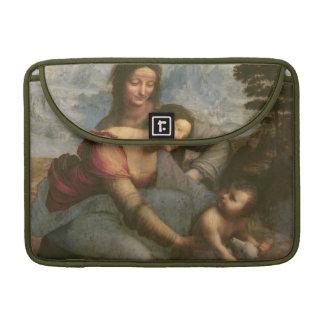 Virgen y niño con St Anne, c.1510 Fundas Para Macbooks