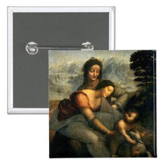 Virgen y niño con St Anne, c.1510 Pin