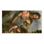 Virgen y niño con St Anne, c.1510 Plantillas De Tarjetas Personales