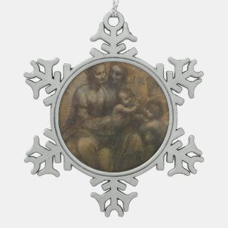 Virgen y niño con St Anne de Leonardo da Vinci Adornos