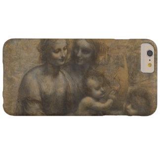 Virgen y niño con St Anne de Leonardo da Vinci Funda Para iPhone 6 Plus Barely There