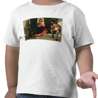 Virgen y niño con St Anthony de Padua Camiseta