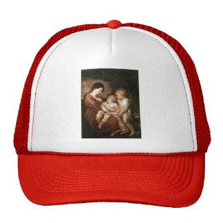 Virgen y niño con St. John infantil de Peter Ruben Gorro De Camionero