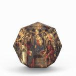 Virgen y niño de Sandro Botticelli- con los santos