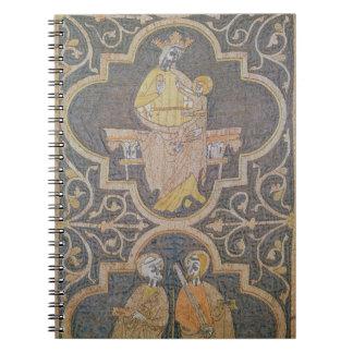 Virgen y niño, detalle de la casulla de Clare, Note Book