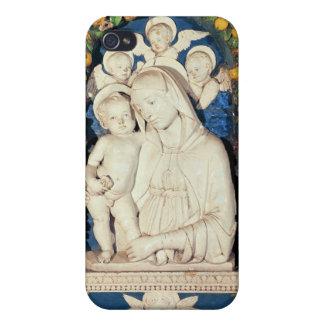 Virgen y niño iPhone 4 carcasa