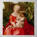 """Virgen y niño """"Madonna con el iris"""", 1508 Posters"""