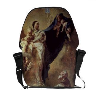 Virgen y niño que aparecen a St Philip Neri, 172 Bolsa De Mensajería