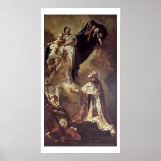 Virgen y niño que aparecen a St Philip Neri, 172 Posters
