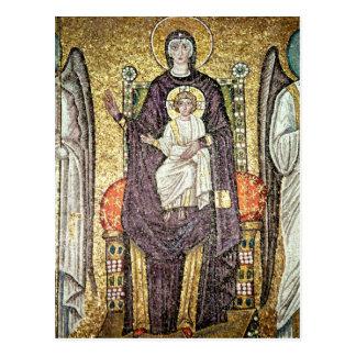 Virgen y niño postales