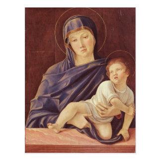 Virgen y niño tarjetas postales