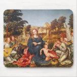 Virgen y niño y ángeles, 1536-38 mousepads