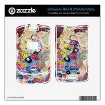 Vírgenes de Gustavo Klimt Motorola RAZR Skin