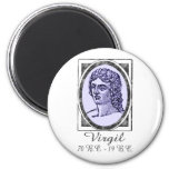 Virgil 2 Inch Round Magnet
