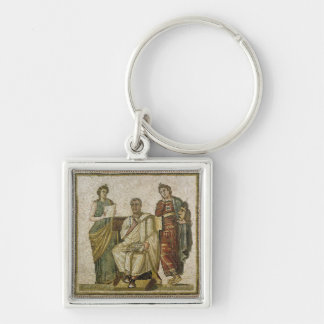 Virgil  and the Muses, from Sousse Keychain