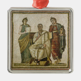 Virgil  and the Muses, from Sousse Metal Ornament