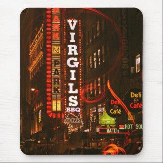 Virgil BBQ New York Mouse Pad