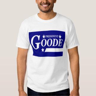Virgil Goode para presidente T-Shirt Remeras