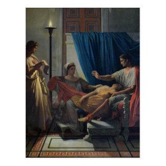 Virgil Reading the Aeneid Postcard