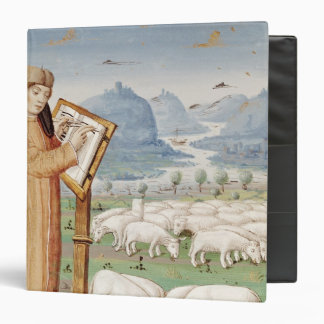 Virgil Writing in a Field of Sheep and Goats Binders